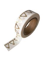 washi/masking tape gold foil triangel  Karton  Masking tape/Washi tape