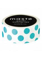 washi/masking tape Turquoise Dots  Karton  Masking tape/Washi tape