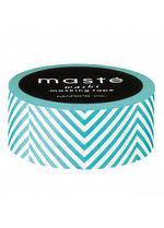 washi/masking tape Turquoise Zigzag  Karton  Masking tape/Washi tape