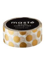 Washi tape Gouden polka dots  Karton  Masking tape/Washi tape
