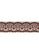Washi tape - Lace brown  Karton  Masking tape/Washi tape