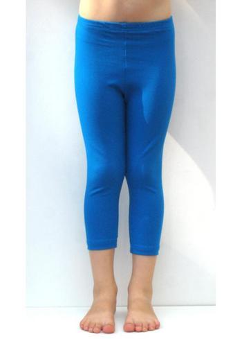 3/4e legging - blauw  Kousen  Leggings