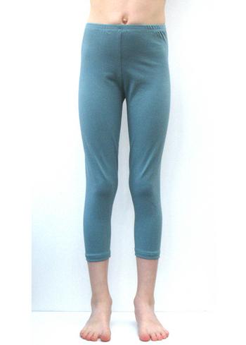 3/4e legging donker blauwgrijs  Kousen  Leggings