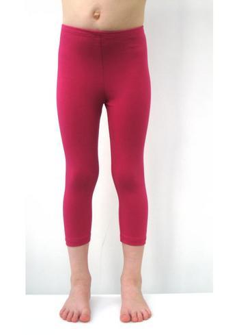 3/4e legging - Donker Fuchsia  Kousen  Leggings