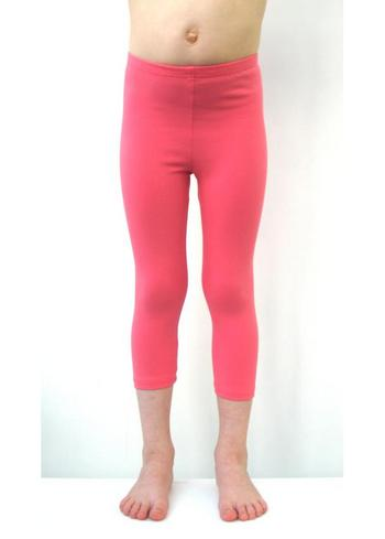 3/4e legging - koraal  Kousen  Leggings