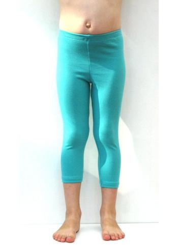 3/4e legging - licht appelblauwzeegroen/mint  Kousen  Leggings