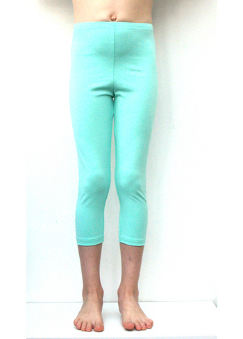 3/4e legging licht mint  Kousen  Leggings