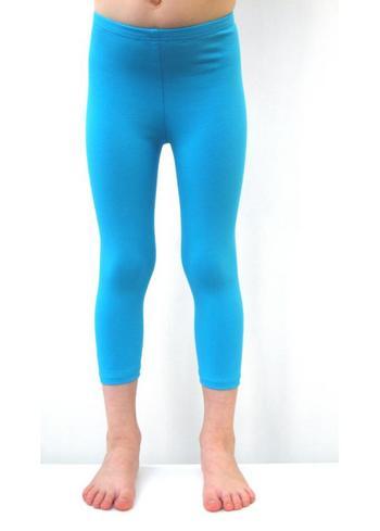 3/4e legging - lichtblauw  Kousen  Leggings