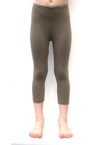 3/4e legging - Lichtbruin  Kousen  Leggings