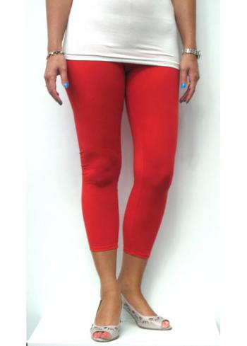 3-4e legging rood  Kousen  Leggings