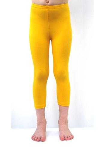 3/4e legging warm geel  Kousen  Leggings