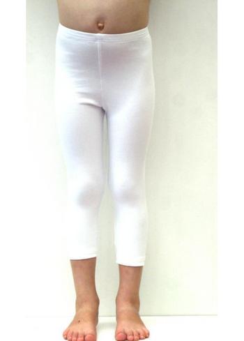 3/4e legging - wit  Kousen  Leggings