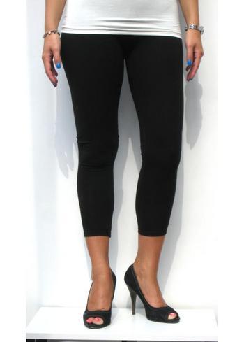 3-4e legging zwart  Kousen  Leggings