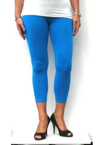 3-4e legging blauw  Kousen  Leggings