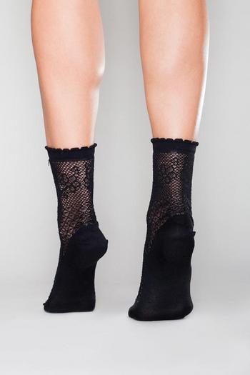 Alanis Chaussette Zwart  Kousen  Kousen/sokken