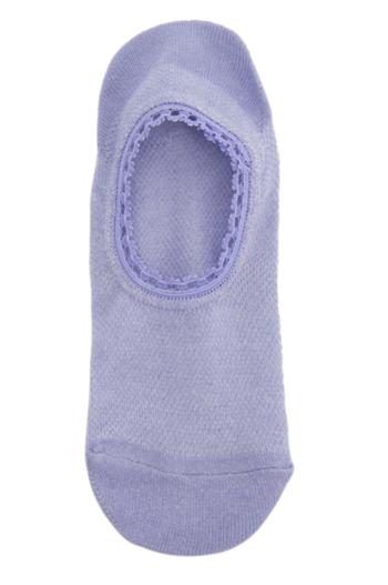 Ballerina sokken met lurex light purple/ sneakersokjes  Kousen  Kousen/sokken