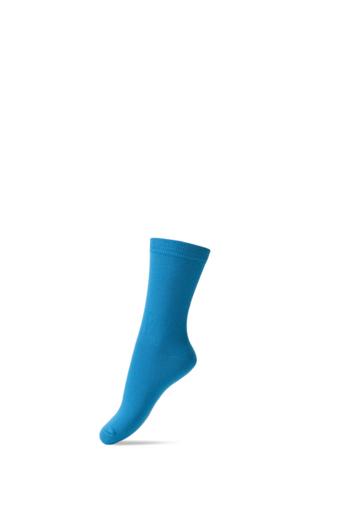 Basis sok/kous turquoise  Kousen  Kousen/sokken