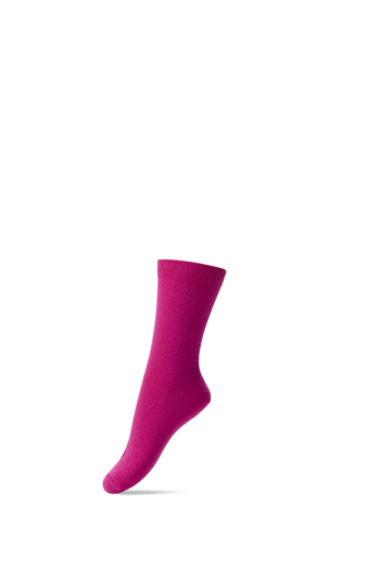 Basis sok/kous Fuchsia  Kousen  Kousen/sokken