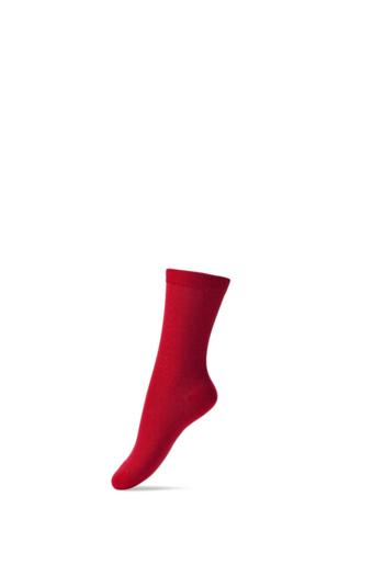 Basis sok/kous Rood  Kousen  Kousen/sokken