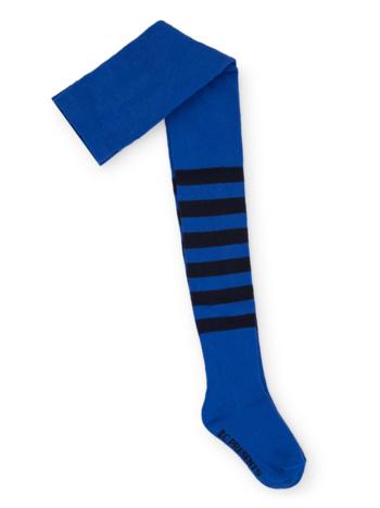 Blue Striped Tights  Kousen  Kousenbroeken - Panty's