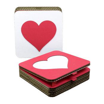 Bouw een doosje: Heart  Karton  Interieurdecoratie