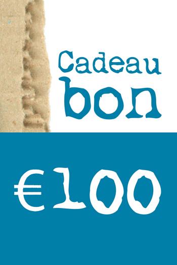 Cadeaubon van € 100  Karton  Cadeaubonnen