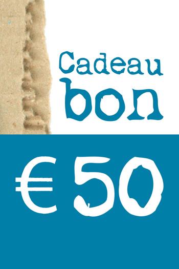 Cadeaubon van € 50  Kousen  Cadeaubonnen