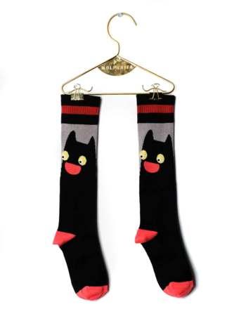 Kniekousen CAT BLACK  Kousen  Kniekousen