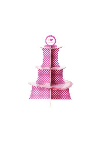 Cupcake staanderd 'I love cupcakes'  Karton  Interieurdecoratie