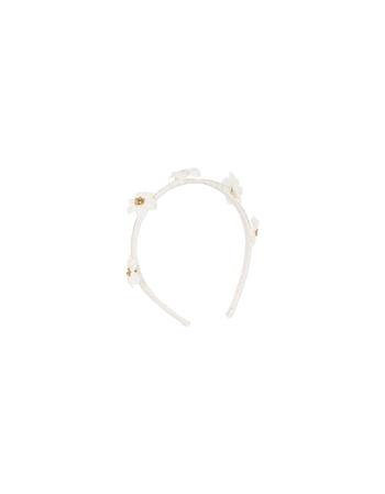 Diadeem Denise ecru/gold  Kousen  Accessoires
