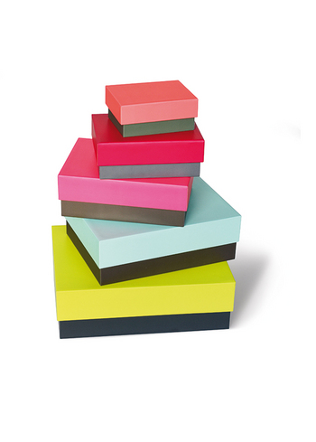 Dozenset Due Color  Karton  Opbergen
