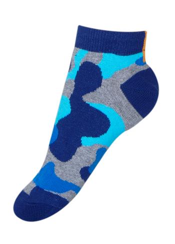Enkelsokjes Camouflage Blauw  Kousen  Kousen/sokken