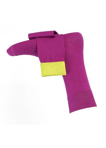 Fijne herensokken Burgund (purple)  Kousen  Kousen/sokken
