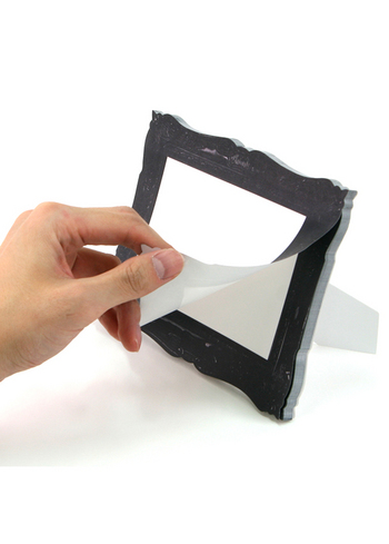'Frame-it' sticky memo's black - small  Karton  Kaartjes enzo
