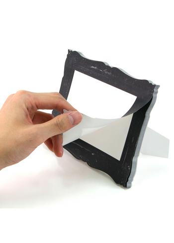 'Frame-it' sticky memo's black - large  Karton  Kaartjes enzo