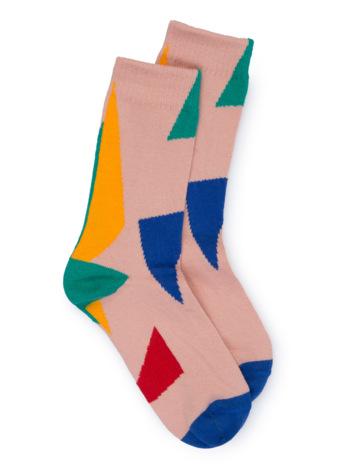 Geometric Jacquard Socks  Kousen  Kousen/sokken