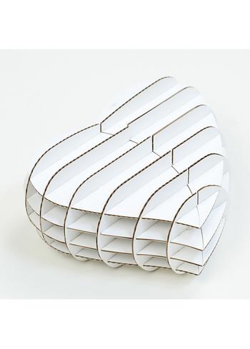 Gift Box  -  cadeaudoosje wit  Karton  Interieurdecoratie