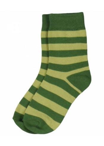 Groen gestreept  Kousen  Kousen/sokken