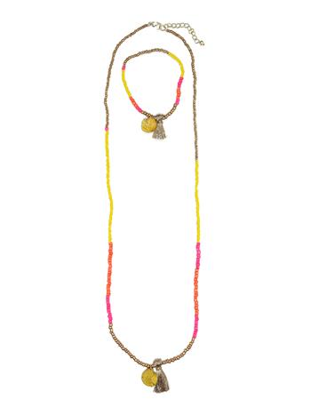 Juwelenset schelpjes  Kousen  Accessoires