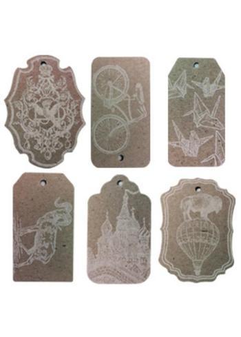 Kadokaartjes - labels  Karton  Interieurdecoratie