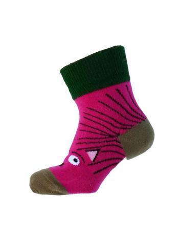 Kletskous egel fuchsia  Kousen  Kousen/sokken