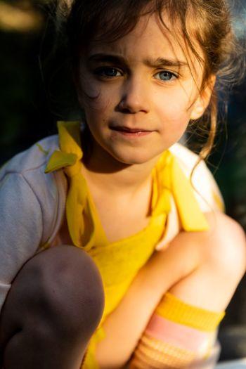 Kniekous Yellow rose  Kousen  Kniekousen