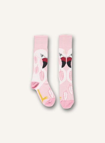 Kniekousen Flaminco sock Pink  Kousen  Kniekousen
