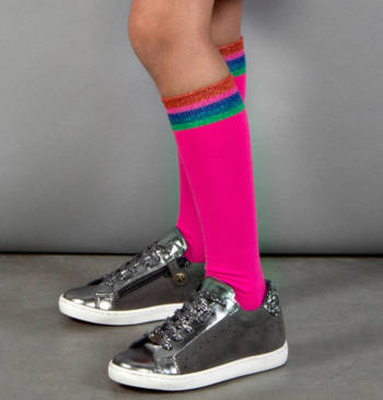 Kniekousen Presley Knee High Pink Glo  Kousen  Kniekousen