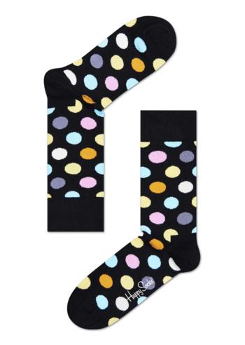 Kousen Zwart met kleurrijke Big Dots  Kousen  Kousen/sokken