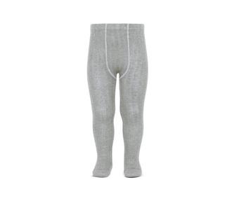 Kousenbroek met rib aluminium  Kousen  Kousenbroeken - Panty's