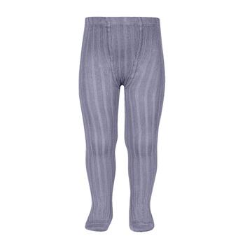 Kousenbroek met fijne rib Lavendel  Kousen  Kousenbroeken - Panty's