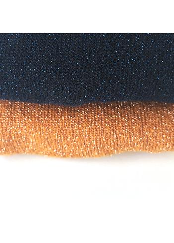 Kousenbroek met glitter dark navy  Kousen  Kousenbroeken - Panty's
