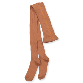 Kousenbroek met rib Amber Brown  Kousen  Kousenbroeken - Panty's