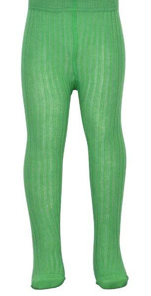 Kousenbroek met rib Forrest green  Kousen  Kousenbroeken - Panty's